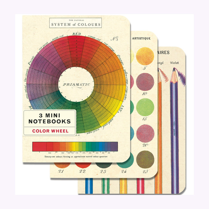 Cavallini Cavallini Color Wheel Notebooks - Set of 3