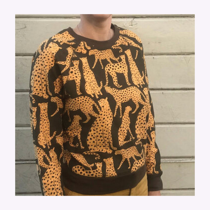 Baby Cats of California Baby Cats of California Cheetah Crewneck