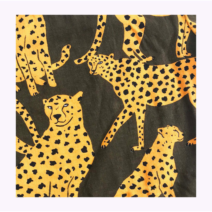 Baby Cats of California Cheetah Crewneck