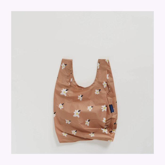 Baggu sac réutilisable Petit sac réutilisable Baggu Painted Daisies