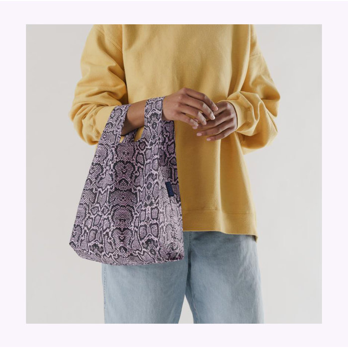 Baby Baggu Pink Snakeskin Reusable Bag