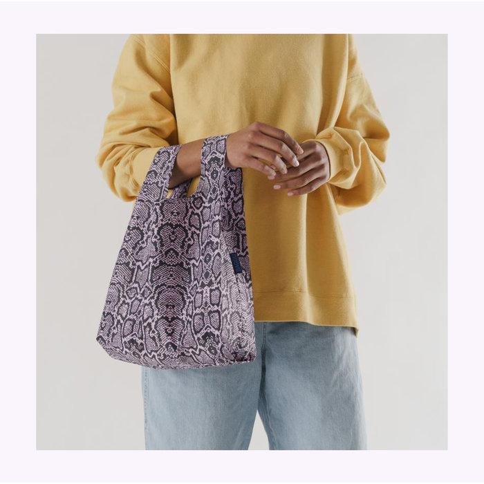 Petit sac réutilisable Baggu Motif Serpent Rose