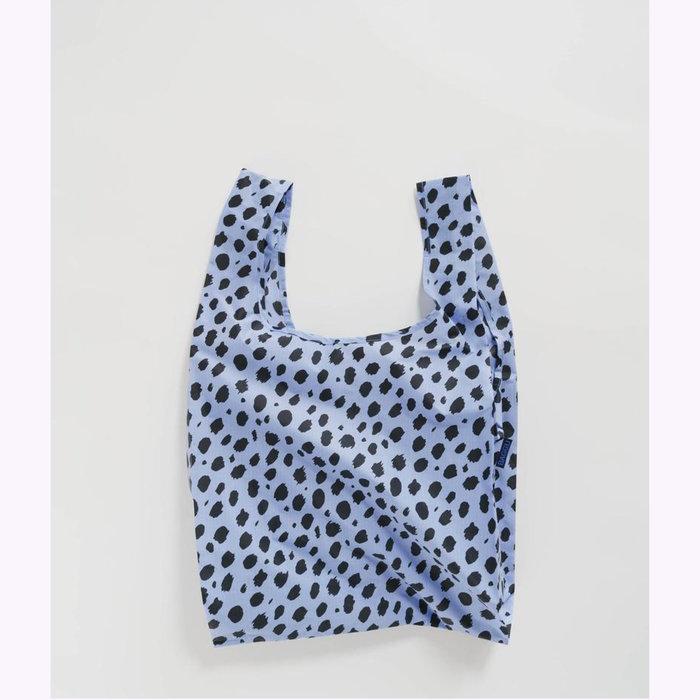 Baggu sac réutilisable Baggu Blue Cheetah Reusable Bag