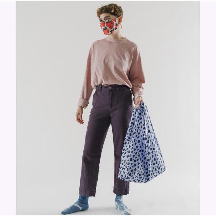 Baggu Blue Cheetah Reusable Bag