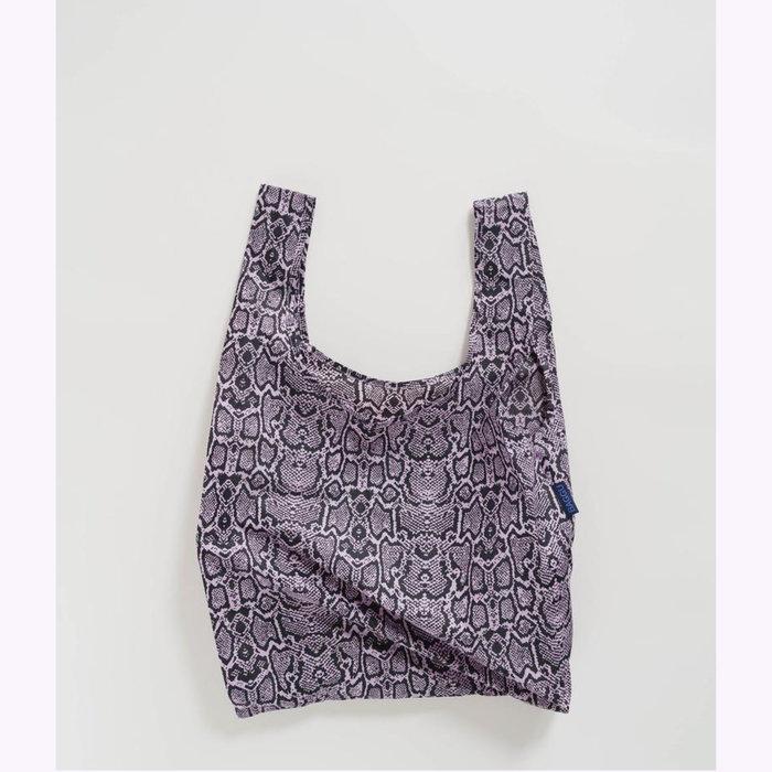 Baggu sac réutilisable Baggu Pink Snakeskin Reusable Bag