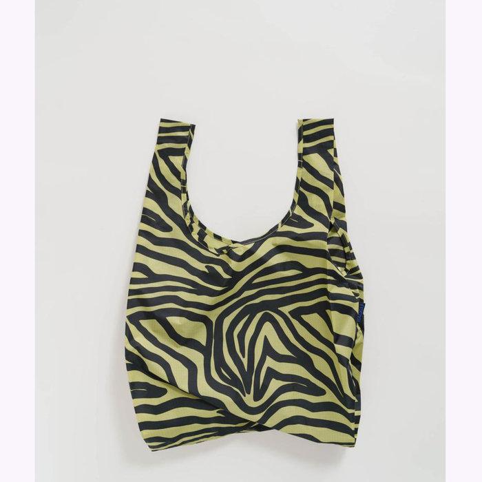 Baggu sac réutilisable Sac réutilisable Baggu Olive Zebra