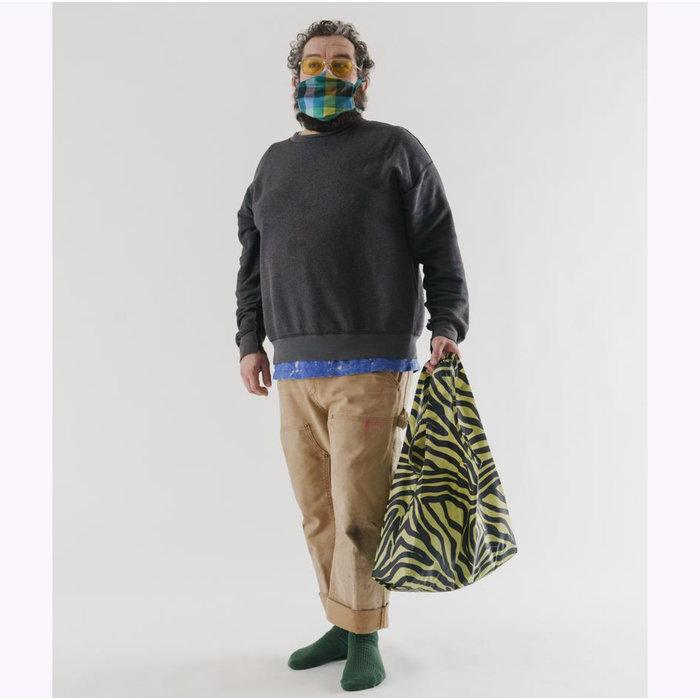Sac réutilisable Baggu Olive Zebra