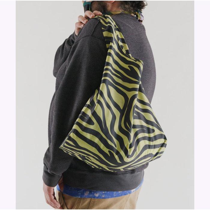 Baggu Olive Zebra Resable Bag