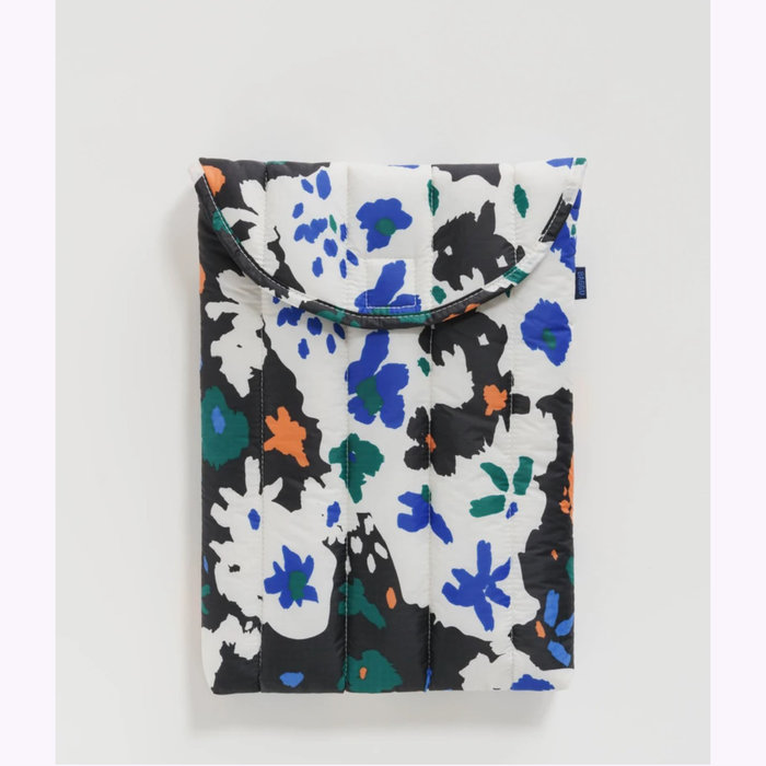 "Baggu pochette Baggu Litho Floral Puffy Laptop Sleeve 13"""