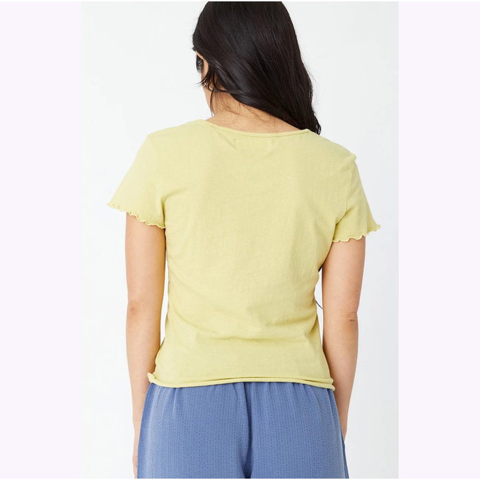 T-Shirt Baby Lime Back Beat co.