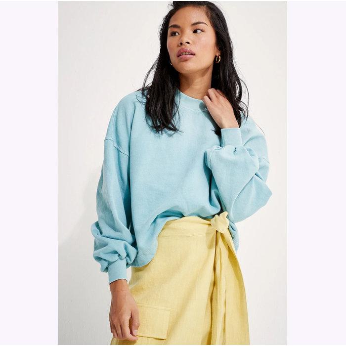 Back Beat co. Recycled Cotton Puff Sleeve Sweatshirt