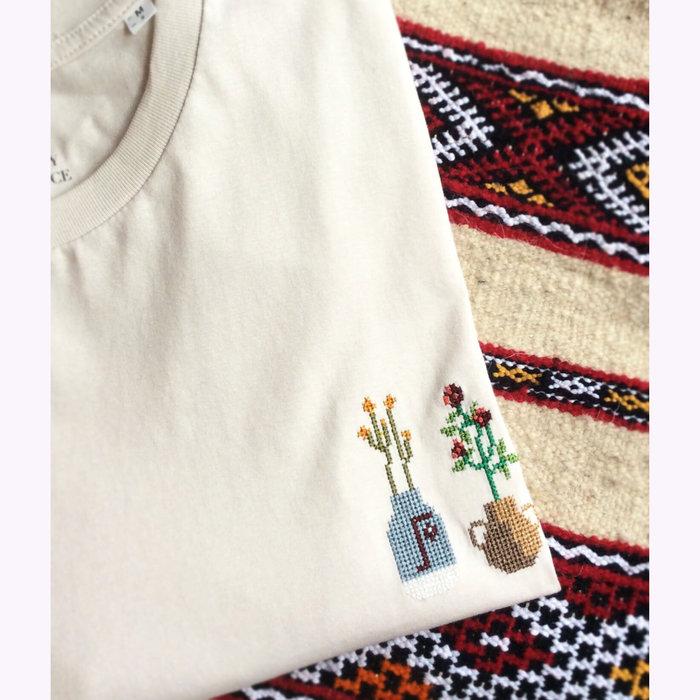 Johnny Romance Johnny Romance Off White Ceramics T-Shirt
