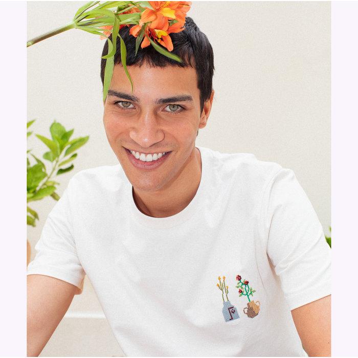 Johnny Romance Off White Ceramics T-Shirt