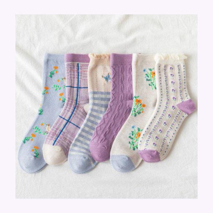 Rainbow Unicorn Rainbow Unicorn Sakura Socks