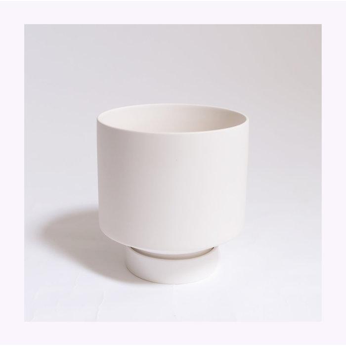 Large Cache-pot Blanc
