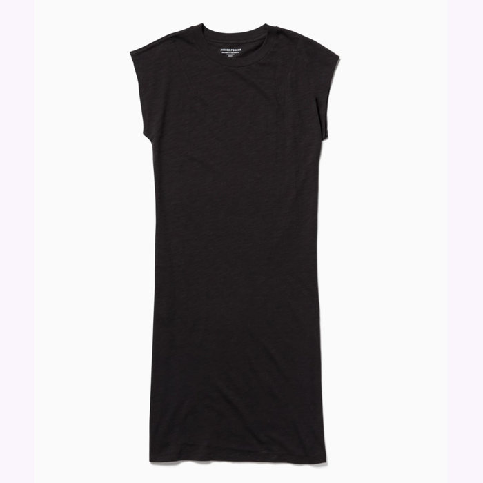 Richer Poorer Robe T-shirt Noire Richer Poorer