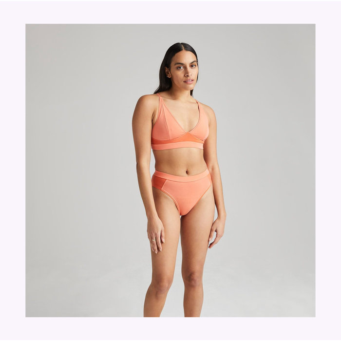 Richer Poorer Flamingo High Cut Bralette