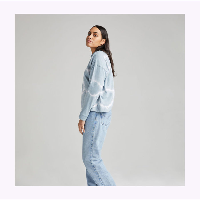 Richer Poorer Mirage Wash Relaxed Long Sleeve Tee