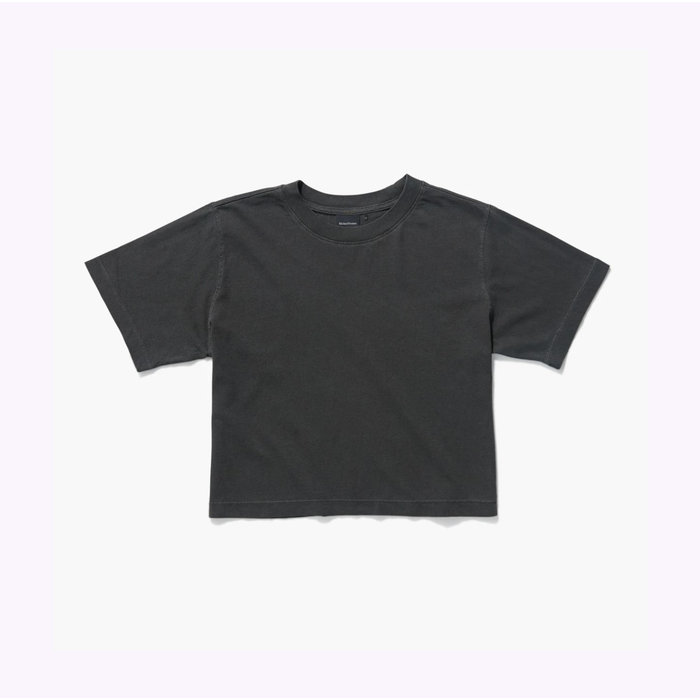 Richer Poorer Stretch Limo Relaxed Crop Tee