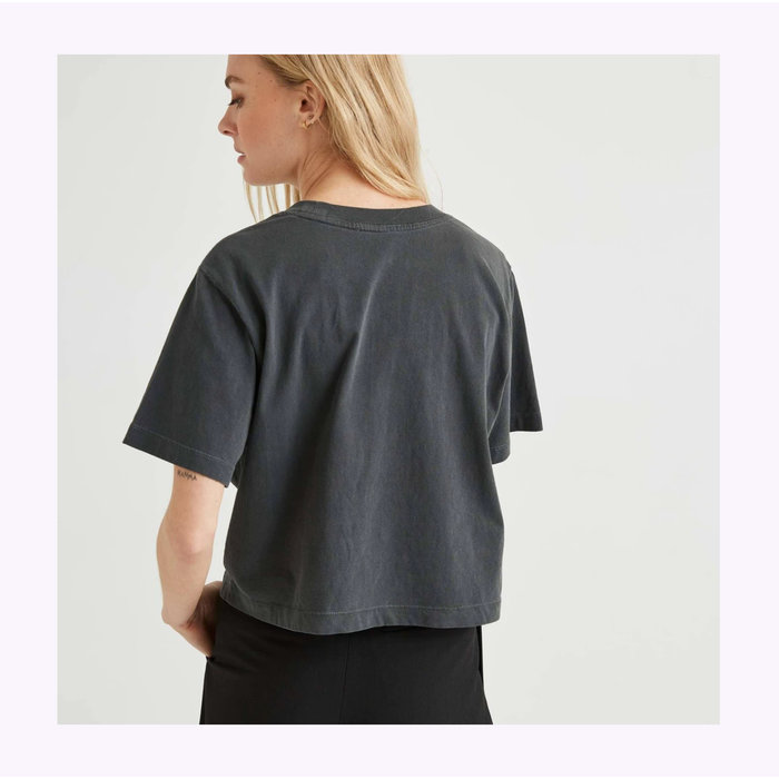 Relaxed Crop Tee Stretch Limo Richer Poorer
