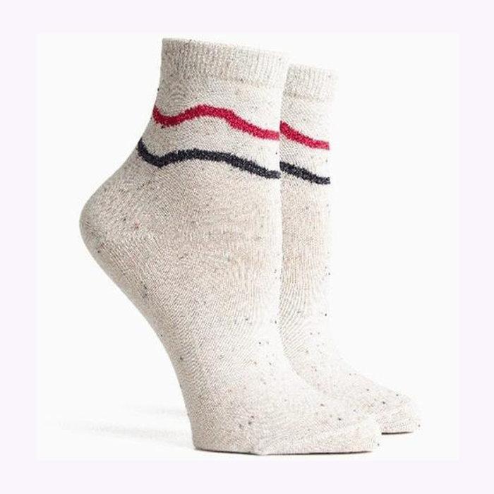 Richer Poorer Richer Poorer Waved And Confused Confetti Socks