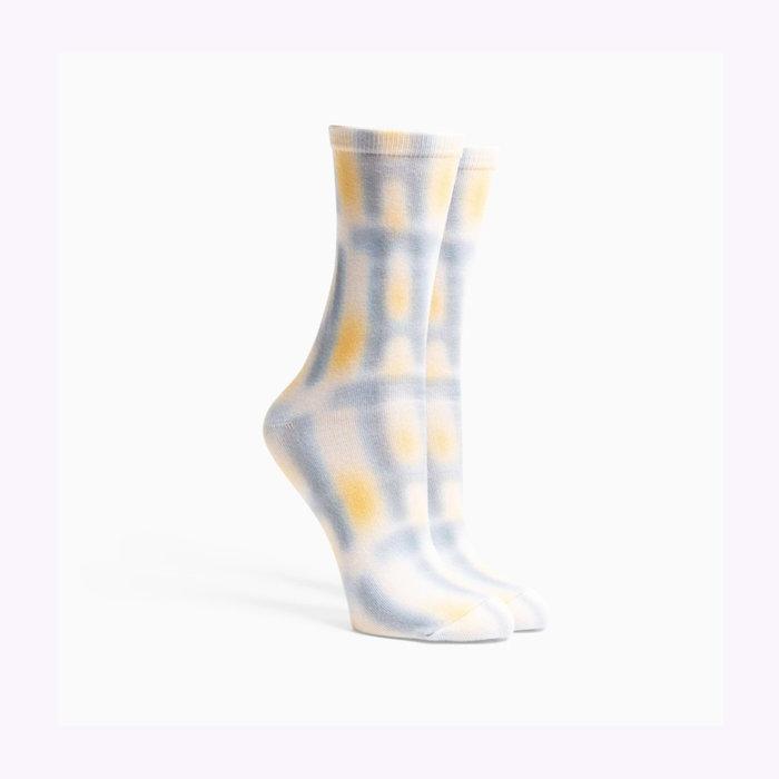 Richer Poorer Richer Poorer Bone Windowpane Socks