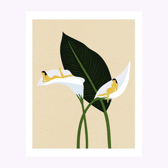 Holly Stapleton Holly Stapleton White Sails Print