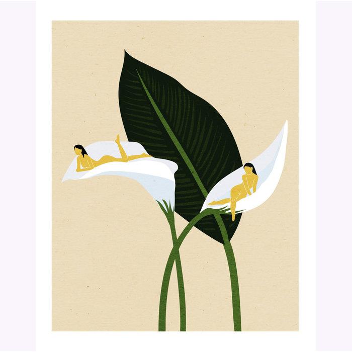Affiche White Sails Holly Stapleton