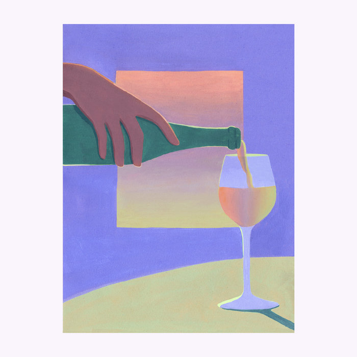 Holly Stapleton Affiche Vino Holly Stapleton