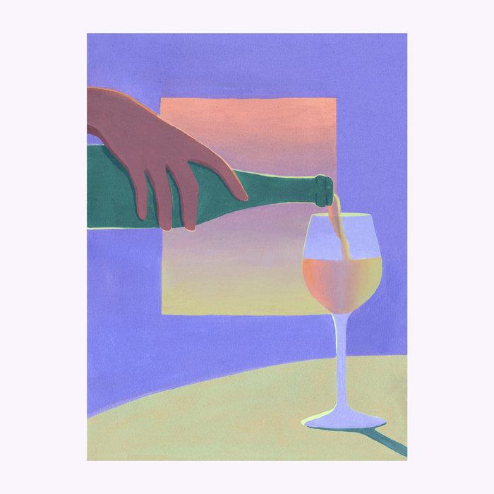 Holly Stapleton Holly Stapleton Vino Print
