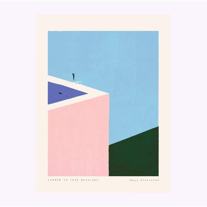 Holly Stapleton Summer in Your Backyard Print
