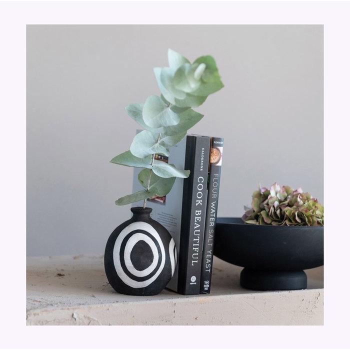 Bloomingville Black & White Vase