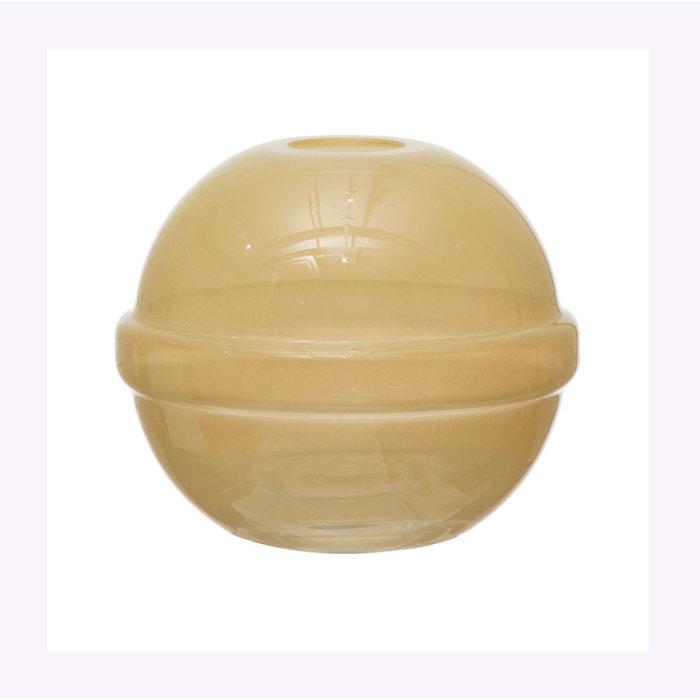 Bloomingville Yellow Sphere Vase