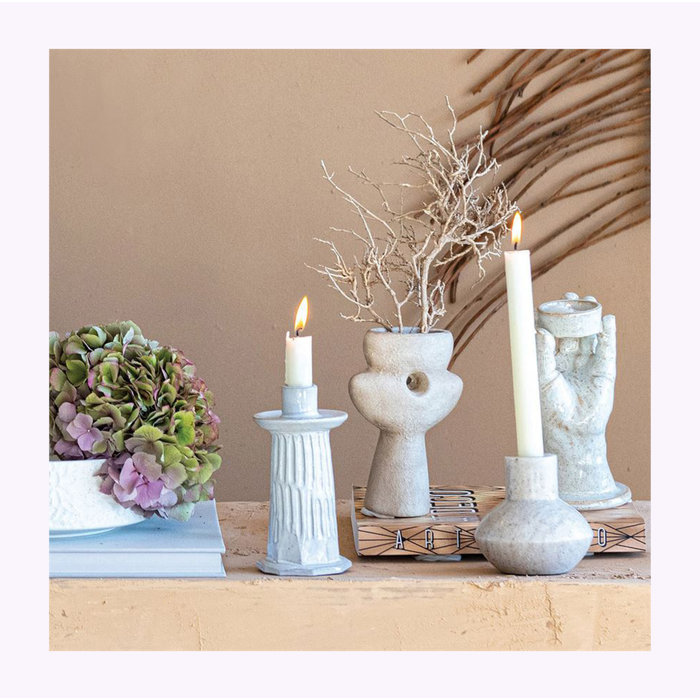 Bloomingville Engraved Candle Holder