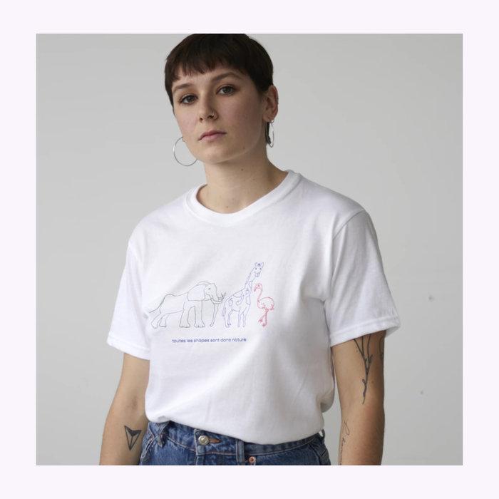Toujours Correct T-shirt Diversité Toujours Correct
