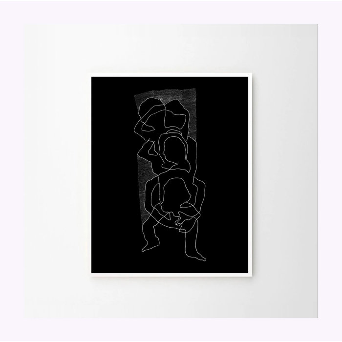 Anne-Marie Gratton Black Intricare 8x10 Poster