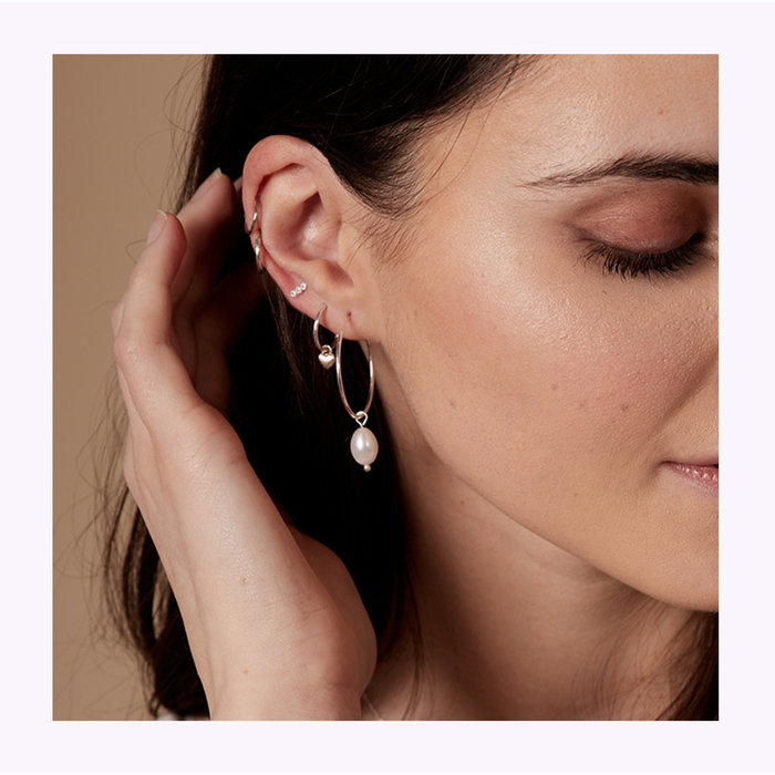 Pilgrim Poesy Earrings