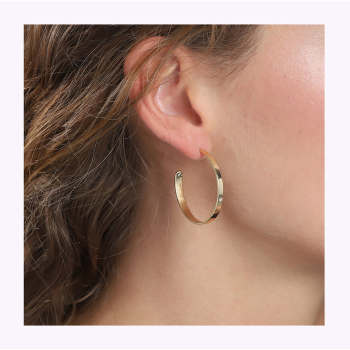 Boucles d'oreilles Bella Large Pilgrim