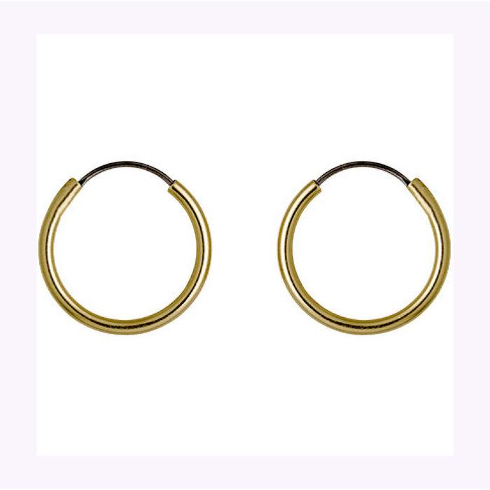 Boucles d'oreilles Sanne 12mm Pilgrim