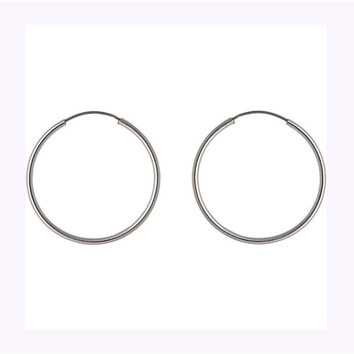 Boucles d'oreilles Sanne 26mm Pilgrim
