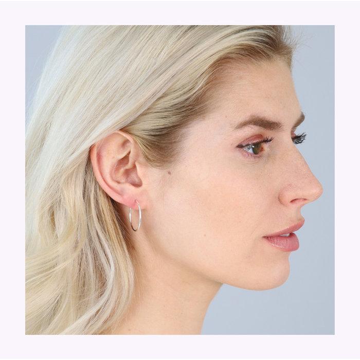 Boucles d'oreilles Sanne 20mm Pilgrim
