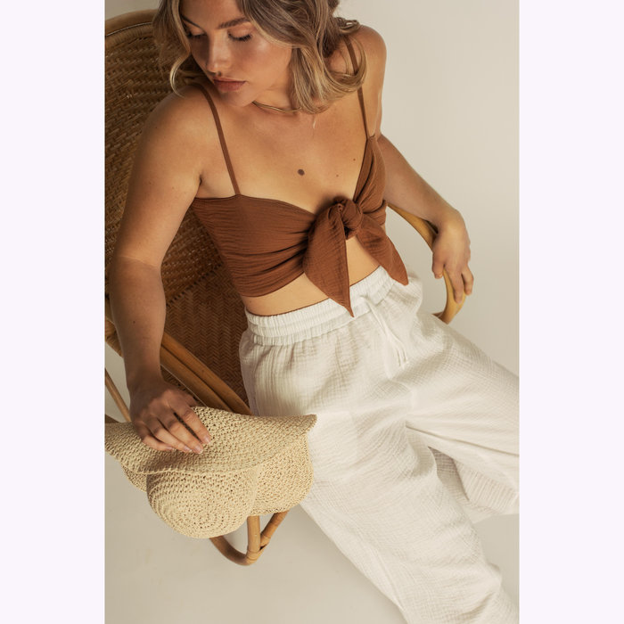 Dailystory Pantalon Hollie Blanc Dailystory