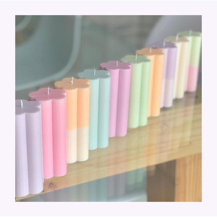 Sunday Skies Studio Flower Candle