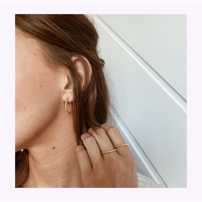 Horace Torsado Earrings