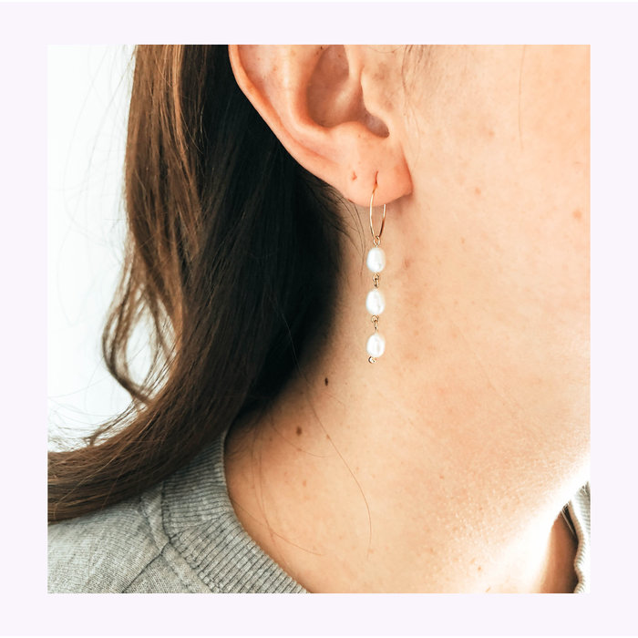 Boucles d'oreilles Ossa Horace