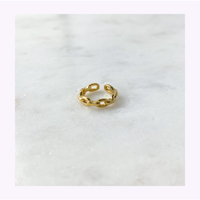 Horace Gold Chain Ear Cuff