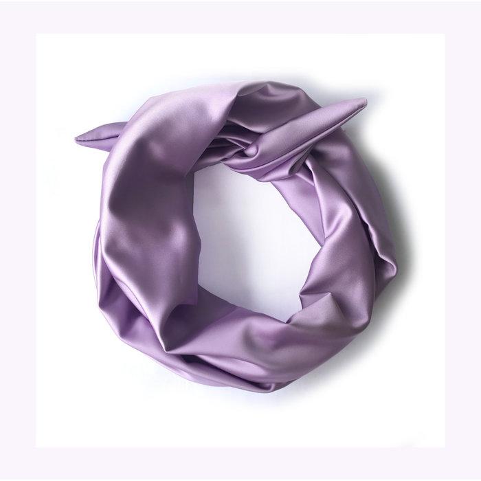 Gibou Satin XL Twist Headband
