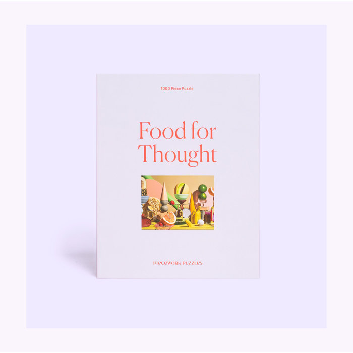 Piecework Food for Thoughts  Puzzle