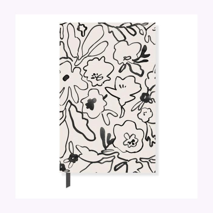 Fringe Carnet Messy Flowers Fringe