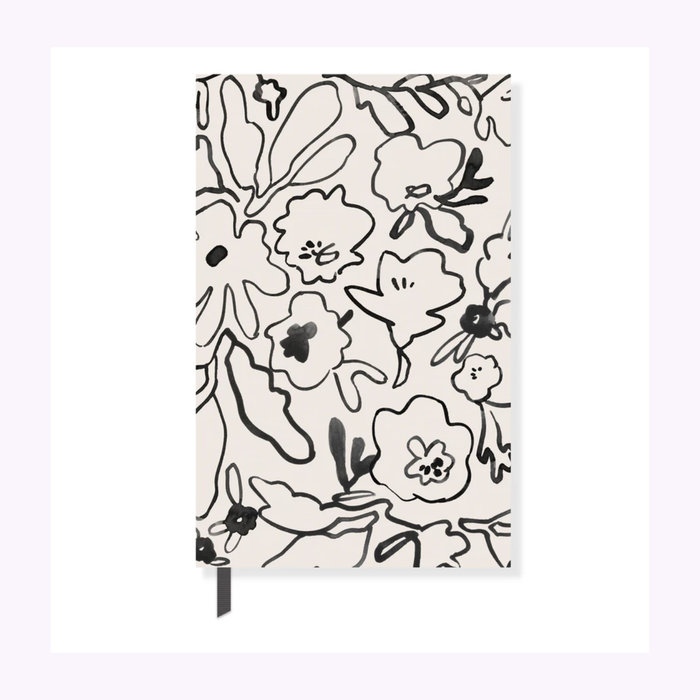 Fringe Fringe Messy Flowers Notebook